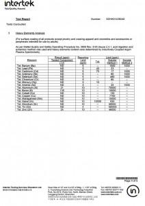 Hot Melt Powder Test Certification-4